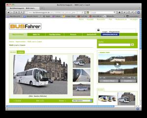 Luxusbus von MAN