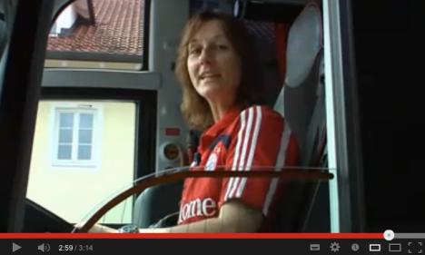 Der Teambus vom FCB