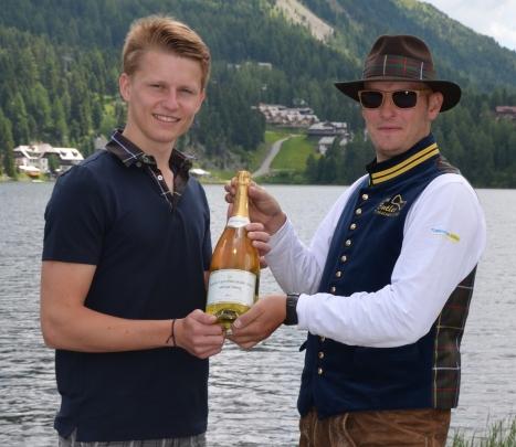 Der Alm-Butler-Praktikant 2013 ist seinen Dienst auf der Turracher Hšhe angetreten