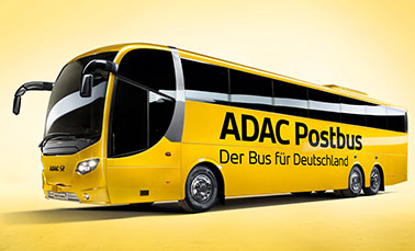Fernbus des ADAC Postbus