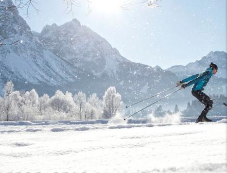 Langlaufen Nordic Skiing Alpen