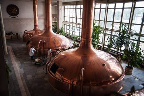 Brauerei in Budweis
