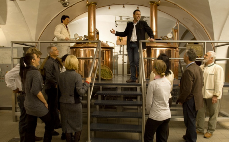 Selber Bier Brauen in der Stiegl Brauwelt