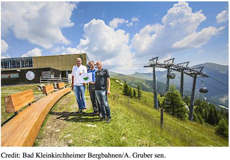 Busreise nach Bad Kleinkirchheim - auf dem Berg in der Gruppe