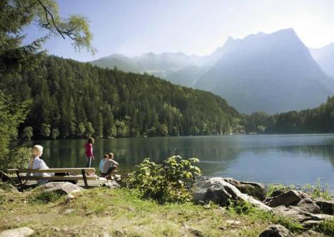 Bergsee im Ötztal