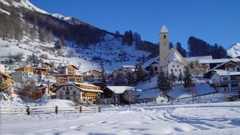 hotelansicht_winter3_03 Traube Post Bushotel Südtirol