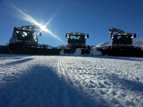 der erste schnee im neuen jahr
