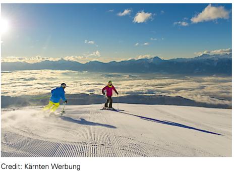 Skifaren in Kärnten